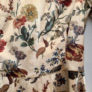 Zara Basics Collection Dress XS Velvet Swing